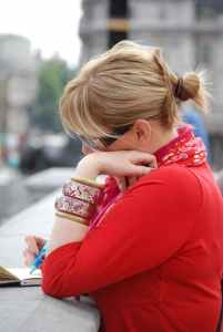 alone artist blur bracelets